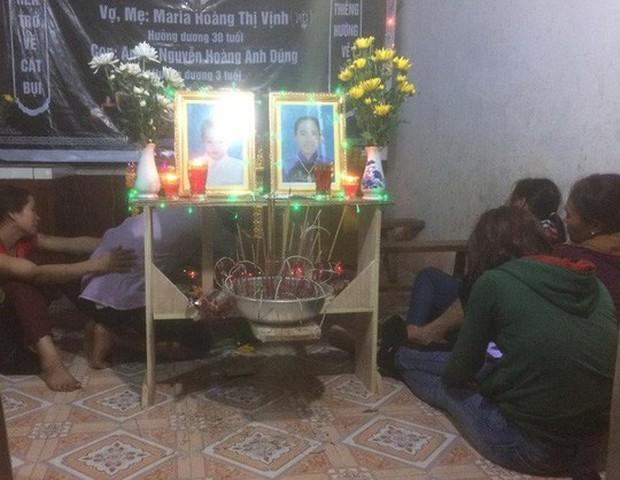 Thai phụ và con 3 tuổi chết thương tâm dưới gầm xe ben - Ảnh 2.