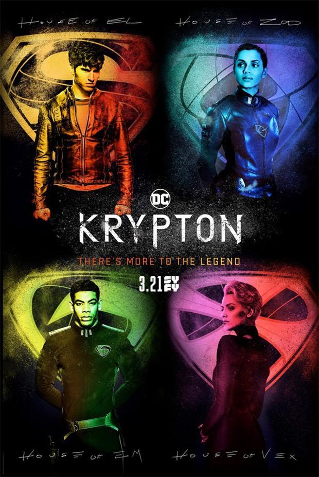 Series truyền hình về Ông Nội Siêu Nhân mang tênKrypton có gì hay? - Ảnh 2.