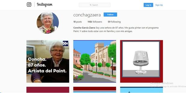 Vẽ trên máy tính bằng Paint, cụ bà 87 tuổi trở thành hot Instagramer vì những bức tranh quá xuất sắc - Ảnh 1.