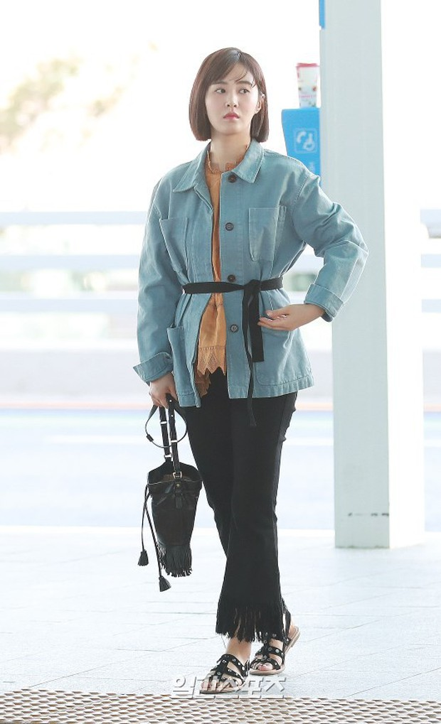 Nhìn Yuri (SNSD) tuột dốc nhan sắc tại sân bay mới thấy rõ, đúng là cái răng cái tóc là góc con người - Ảnh 6.