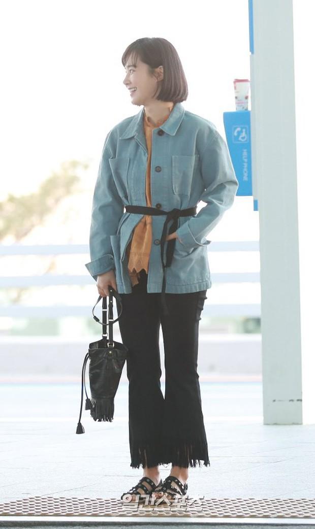 Nhìn Yuri (SNSD) tuột dốc nhan sắc tại sân bay mới thấy rõ, đúng là cái răng cái tóc là góc con người - Ảnh 7.