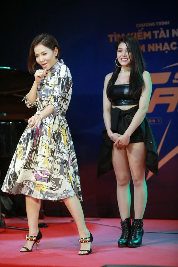 Thu Minh xuất hiện đầy cá tính trong vai trò giám khảo chương trình tìm kiếm tài năng âm nhạc mới - Ảnh 11.