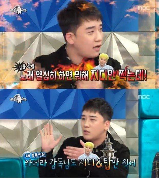 Seung Ri bức xúc tố G-Dragon cướp hết thời gian lên sóng trên sân khấu - Ảnh 2.