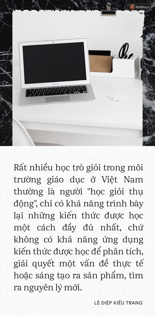 Giám đốc Facebook Việt Nam Lê Diệp Kiều Trang: Học giỏi không có nghĩa là làm việc giỏi - Ảnh 10.