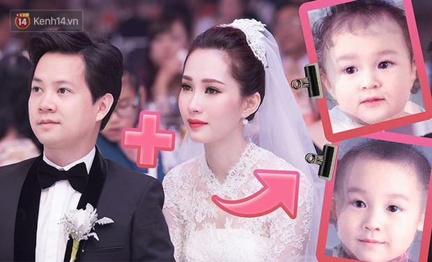 Dự đoán hình ảnh con của Hoa hậu Đặng Thu Thảo và doanh nhân Trung Tín - Ảnh 1.