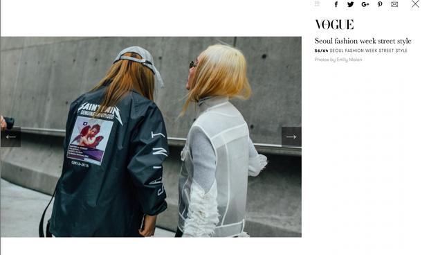 Tung hoành ở Seoul Fashion Week, và rồi Fung La cũng đã hiện diện trên Vogue! - Ảnh 2.