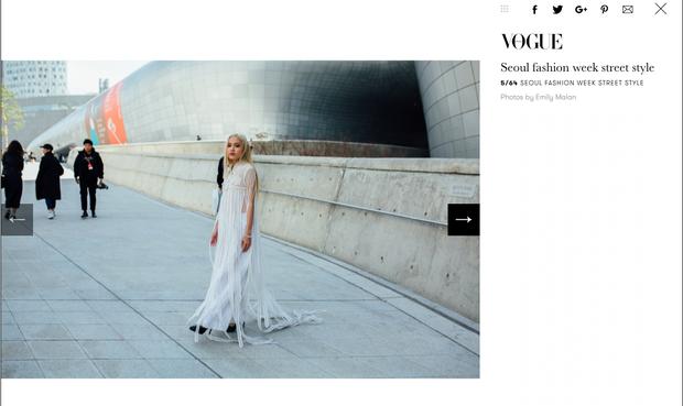 Tung hoành ở Seoul Fashion Week, và rồi Fung La cũng đã hiện diện trên Vogue! - Ảnh 1.