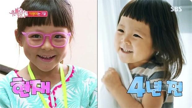 Thiên thần nhí Choo Sarang lớn nhanh đến mức khó tin, nhưng netizen Hàn lại phản ứng trái chiều - Ảnh 1.