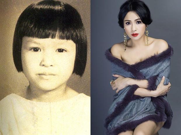 Sao Việt thời còn để đầu nấm: người ngố tàu và đen nhẻm, kẻ xinh đẹp ngời ngời từ thuở bé - Ảnh 18.