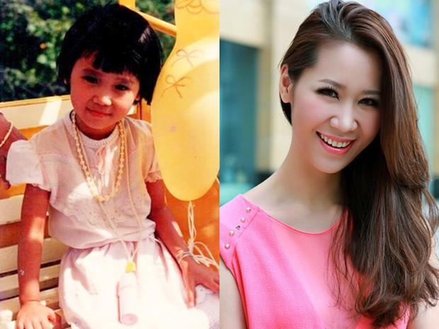 Sao Việt thời còn để đầu nấm: người ngố tàu và đen nhẻm, kẻ xinh đẹp ngời ngời từ thuở bé - Ảnh 14.