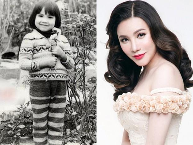Sao Việt thời còn để đầu nấm: người ngố tàu và đen nhẻm, kẻ xinh đẹp ngời ngời từ thuở bé - Ảnh 12.