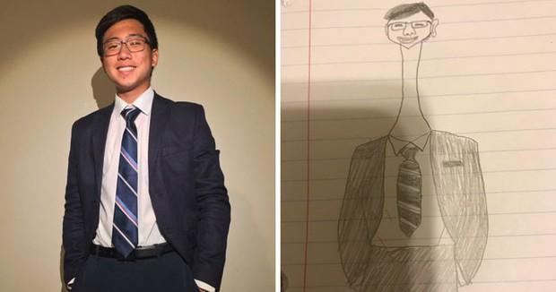 Vẽ xấu ma chê quỷ hờn, cậu sinh viên này vẫn nhận hàng ngàn đơn đặt hàng vẽ chân dung - Ảnh 7.