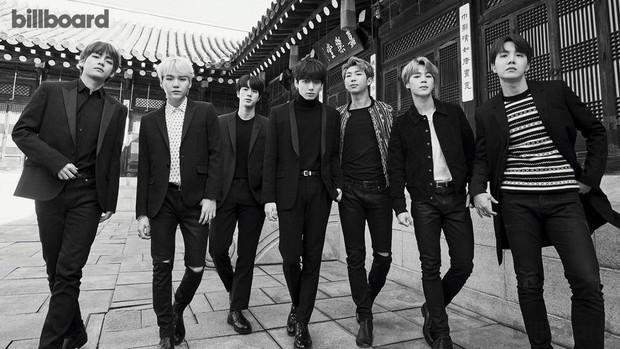 Ra mắt chưa đầy 5 năm, BTS đã lọt Top 5 nhân vật có sức ảnh hưởng nhất lịch sử showbiz Hàn - Ảnh 1.