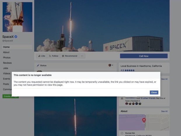 Mặc cho Mark Zuckerberg xin lỗi, Elon Musk vẫn xóa luôn 2 page Facebook triệu like của công ty vì ông thích thế - Ảnh 2.