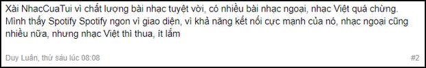 Sau 2 tuần dùng Spotify nghe nhạc, cư dân mạng Việt Nam nói gì? - Ảnh 1.