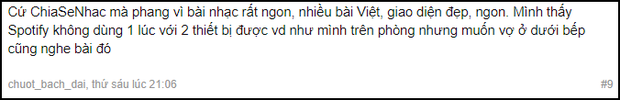 Sau 2 tuần dùng Spotify nghe nhạc, cư dân mạng Việt Nam nói gì? - Ảnh 2.