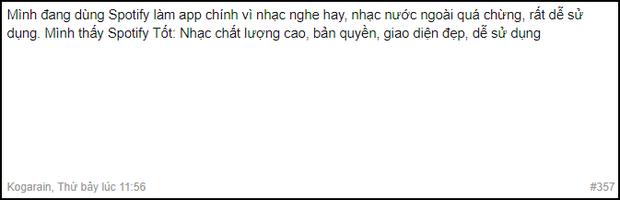 Sau 2 tuần dùng Spotify nghe nhạc, cư dân mạng Việt Nam nói gì? - Ảnh 8.