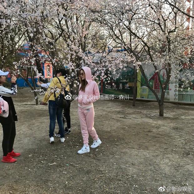 Mặc nghi vấn lén lút hẹn hò với PGone, Lý Tiểu Lộ vẫn thoải mái nghỉ ngơi tại Nhật Bản - Ảnh 3.