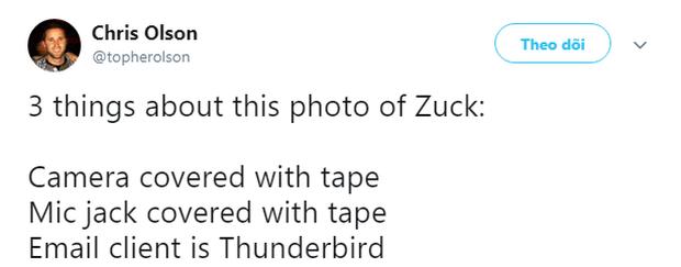 Mark Zuckerberg bịt kín cả camera và micro của laptop từ 2 năm trước vì sợ lộ dữ liệu - Ảnh 3.