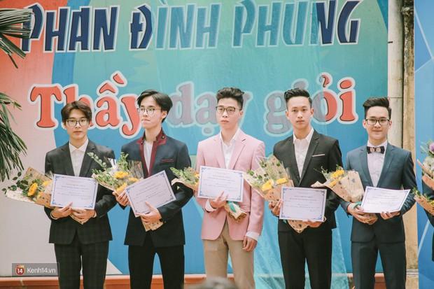 Cuộc thi Học sinh thanh lịch của Phan Đình Phùng tìm được cặp Đại sứ mới, hot boy cầm cờ chiếm spotlight - Ảnh 4.