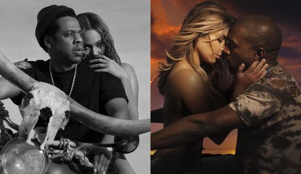 Vừa thông báo tour chung hoành tráng, Beyonce - Jay-Z bị tố đạo hình tượng vợ chồng Kim - Kanye - Ảnh 1.