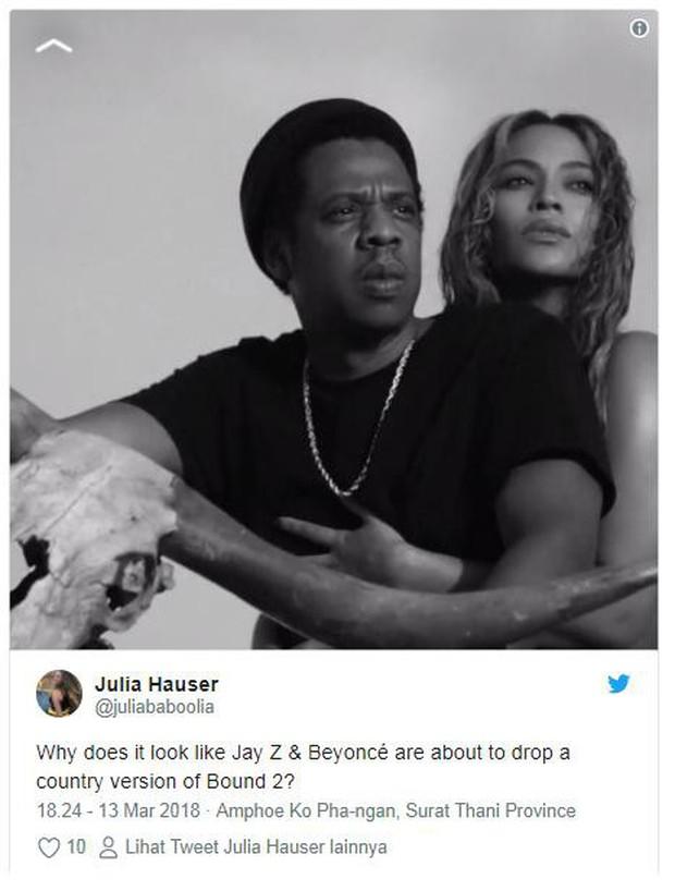 Vừa thông báo tour chung hoành tráng, Beyonce - Jay-Z bị tố đạo hình tượng vợ chồng Kim - Kanye - Ảnh 3.