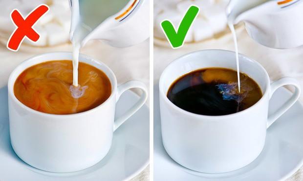 11 sai lầm bạn buộc phải tránh nếu muốn thưởng thức được một ly cà phê đúng chuẩn - Ảnh 9.