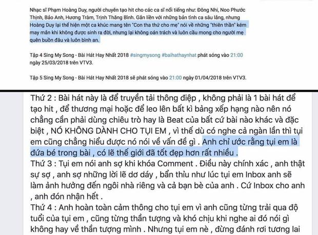 Fan Kpop dậy sóng vì chia sẻ nặng nề từ nhạc sĩ Phạm Hoàng Duy sau nghi vấn đạo nhạc tại Sing My Song - Ảnh 6.