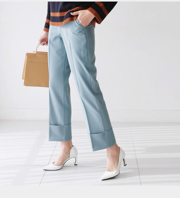 """Đây chính là lý do vì sao quần vải đang dần """"chiếm chỗ"""" của quần jeans trong tủ đồ của các nàng - Ảnh 5."""