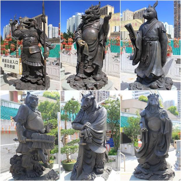 Cùng chung số phận là tượng 12 con giáp, những bức tượng này lại được ngợi khen vì thần thái xuất sắc! - Ảnh 12.