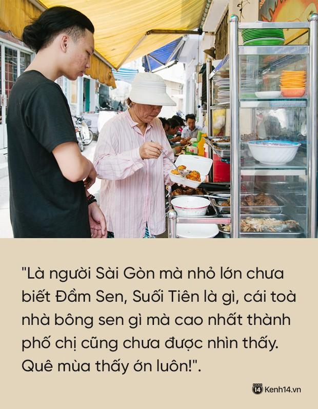 """Cô bán cơm dễ thương hết sức ở Sài Gòn: 10 ngàn cũng bán, khách nhiêu tiền cũng có cơm ăn"""" - Ảnh 5."""
