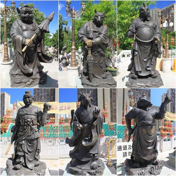 Cùng chung số phận là tượng 12 con giáp, những bức tượng này lại được ngợi khen vì thần thái xuất sắc! - Ảnh 11.