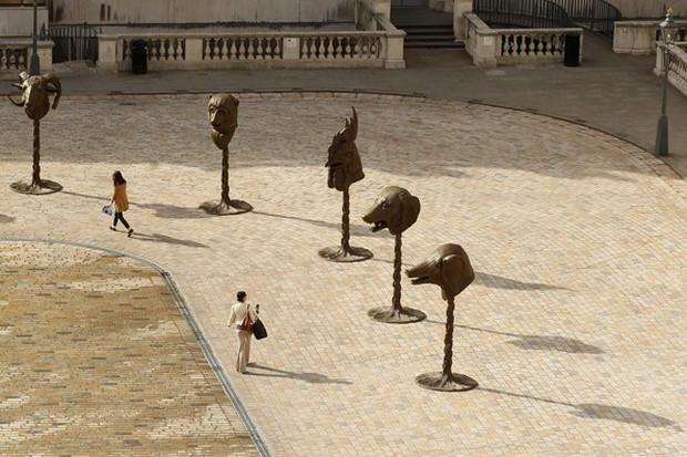 Cùng chung số phận là tượng 12 con giáp, những bức tượng này lại được ngợi khen vì thần thái xuất sắc! - Ảnh 5.