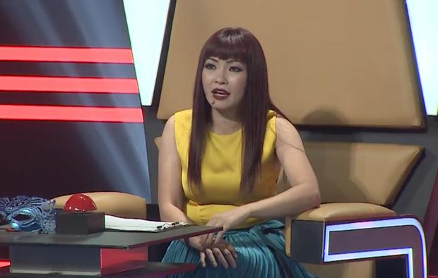 Phương Thanh chọn sai trang phục, lộ vòng 2 kém thon gọn trên ghế giám khảo - Ảnh 1.