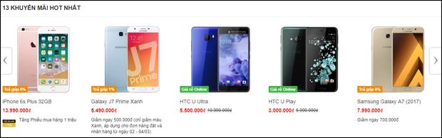 HTC U đang giảm giá cực mạnh: năm ngoái có giá gần 20 triệu, nay chỉ còn 3-6 triệu đồng - Ảnh 6.