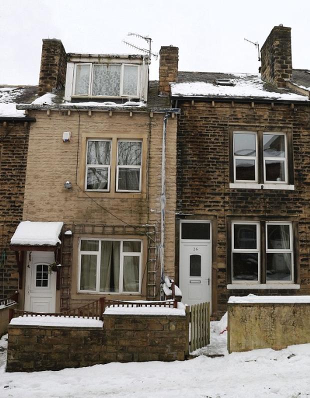 Thời tiết lạnh khắc nghiệt mà một mái nhà không phủ tuyết, cảnh sát nghi ngờ khám xét thì phát hiện cả trang trại cần sa - Ảnh 1.