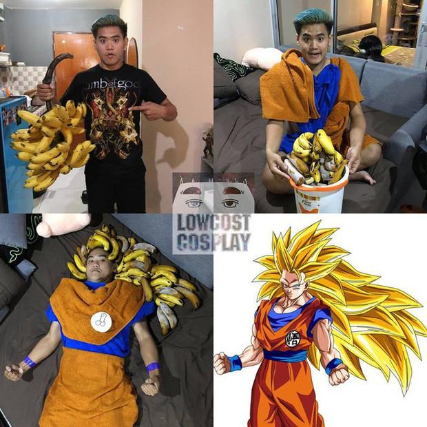 [Vui] Quỳ lạy với bộ ảnh cosplay Dragon Ball Z siêu hài hước của anh chàng Thái Lan - Ảnh 20.