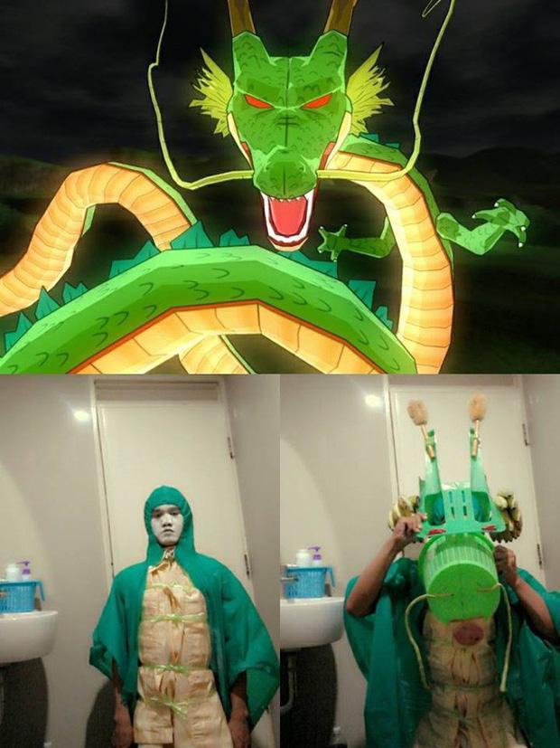 [Vui] Quỳ lạy với bộ ảnh cosplay Dragon Ball Z siêu hài hước của anh chàng Thái Lan - Ảnh 11.