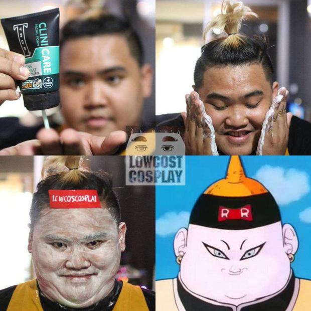 [Vui] Quỳ lạy với bộ ảnh cosplay Dragon Ball Z siêu hài hước của anh chàng Thái Lan - Ảnh 14.
