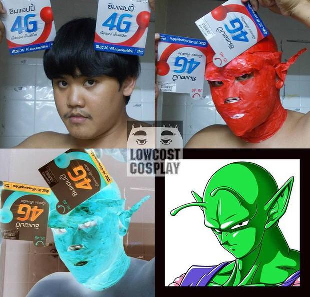 [Vui] Quỳ lạy với bộ ảnh cosplay Dragon Ball Z siêu hài hước của anh chàng Thái Lan - Ảnh 15.