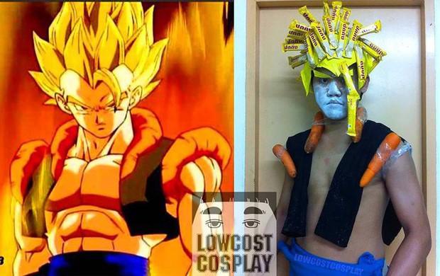 [Vui] Quỳ lạy với bộ ảnh cosplay Dragon Ball Z siêu hài hước của anh chàng Thái Lan - Ảnh 17.