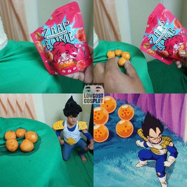 [Vui] Quỳ lạy với bộ ảnh cosplay Dragon Ball Z siêu hài hước của anh chàng Thái Lan - Ảnh 18.