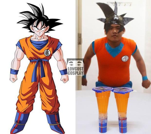 [Vui] Quỳ lạy với bộ ảnh cosplay Dragon Ball Z siêu hài hước của anh chàng Thái Lan - Ảnh 3.