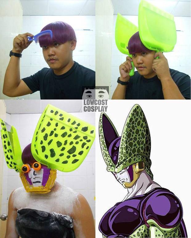 [Vui] Quỳ lạy với bộ ảnh cosplay Dragon Ball Z siêu hài hước của anh chàng Thái Lan - Ảnh 25.
