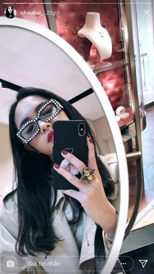 Khoe ảnh selfile tại Paris, Châu Bùi đụng ngay kính Gucci với Chi Pu - Ảnh 5.