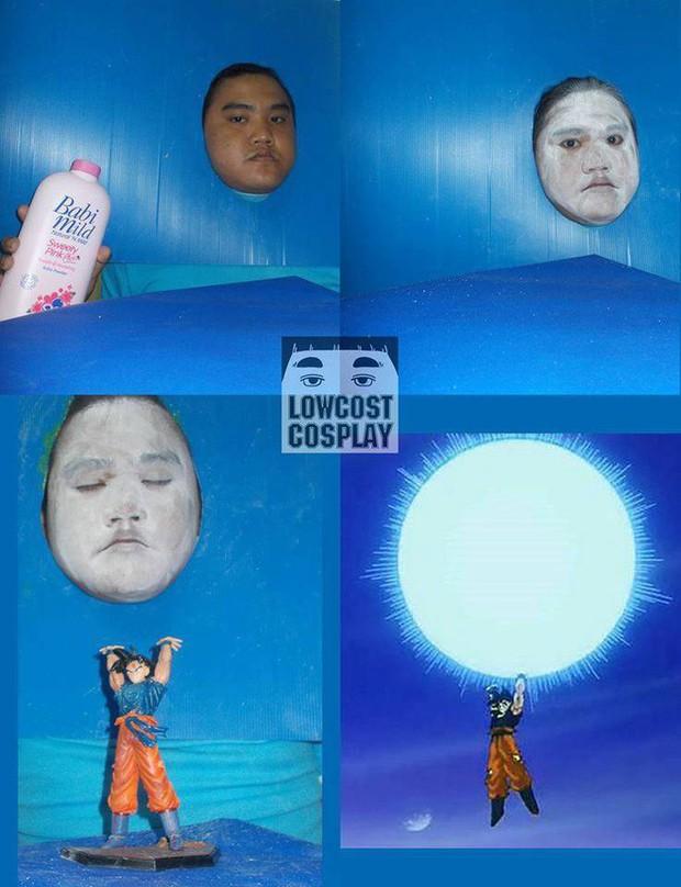 [Vui] Quỳ lạy với bộ ảnh cosplay Dragon Ball Z siêu hài hước của anh chàng Thái Lan - Ảnh 5.