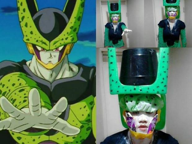 [Vui] Quỳ lạy với bộ ảnh cosplay Dragon Ball Z siêu hài hước của anh chàng Thái Lan - Ảnh 7.