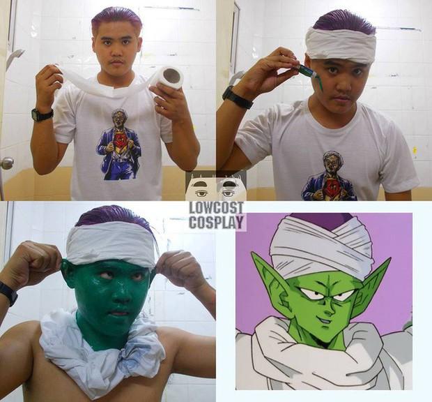 [Vui] Quỳ lạy với bộ ảnh cosplay Dragon Ball Z siêu hài hước của anh chàng Thái Lan - Ảnh 9.