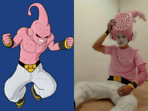 [Vui] Quỳ lạy với bộ ảnh cosplay Dragon Ball Z siêu hài hước của anh chàng Thái Lan - Ảnh 10.