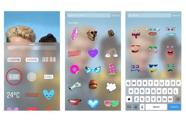 Sau scandal ảnh động nhạy cảm, Instagram đã mang tính năng GIF trở lại cho Stories - Ảnh 2.